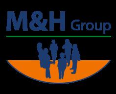 Logo der M&H Group
